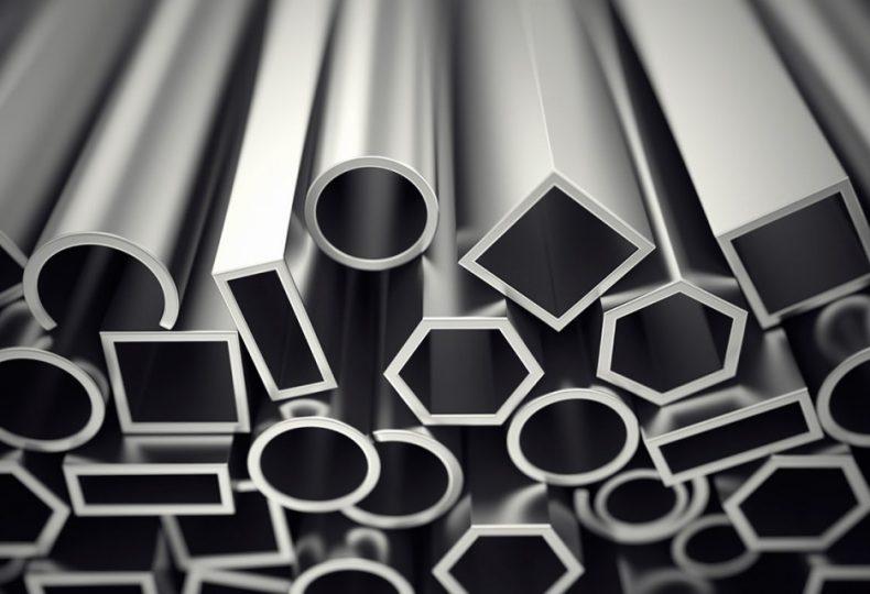 Aluminium wallpaper