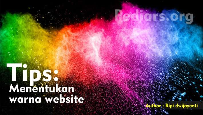 menentukan warna website