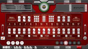 Sicbo Gambling